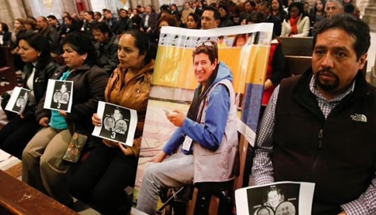 El Sindicato de Trabajadores de la Comunicación Social-Lima clama por sanción de los asesinos de los periodistasecuatorianos