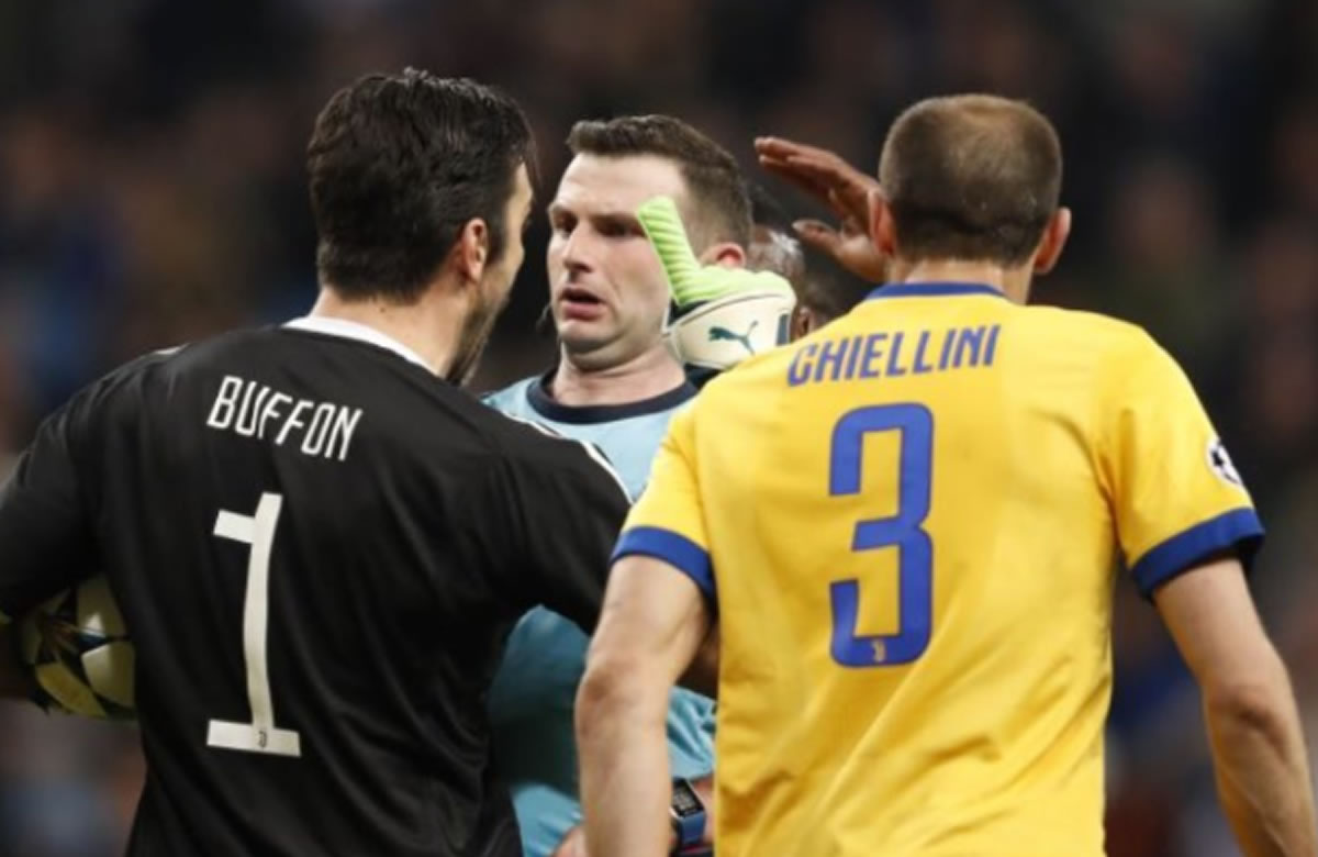 Real Madrid clasifica con penal polémico, y Buffon expulsado en la ChampionsLeague