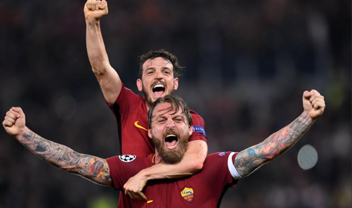 Barcelona eliminado por heroica goleada de la Roma (ChampionsLeague)