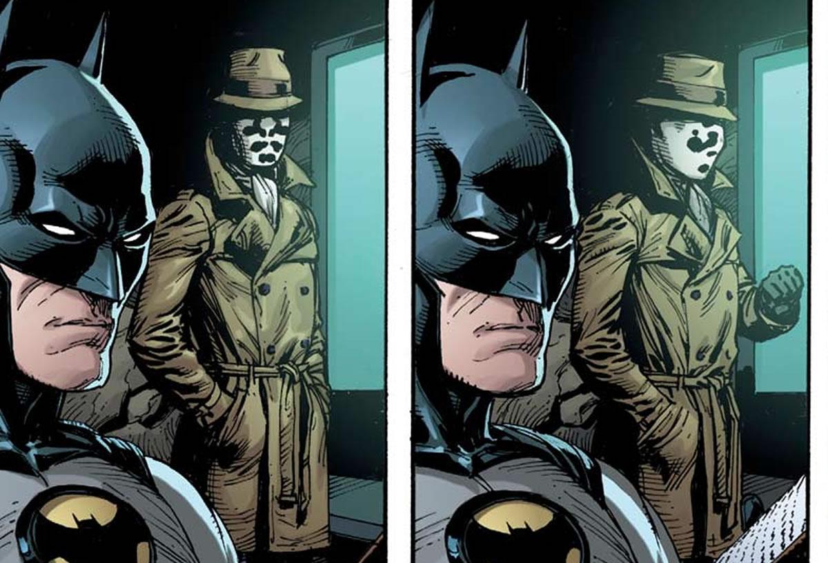 La Liga de la Justicia conocen a The Watchmen: El crossover que todosesperaban