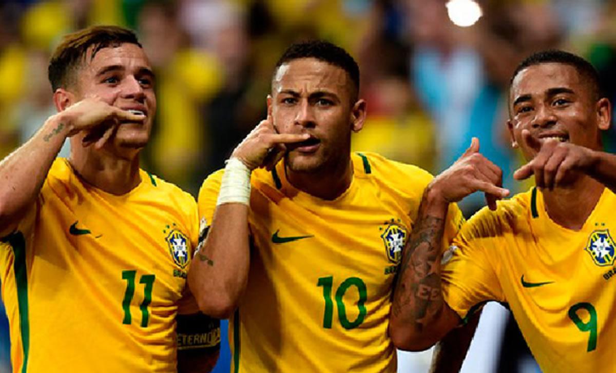 Brasil, de la mano de Tite y con Neymar, es firme candidata a ganar elMundial