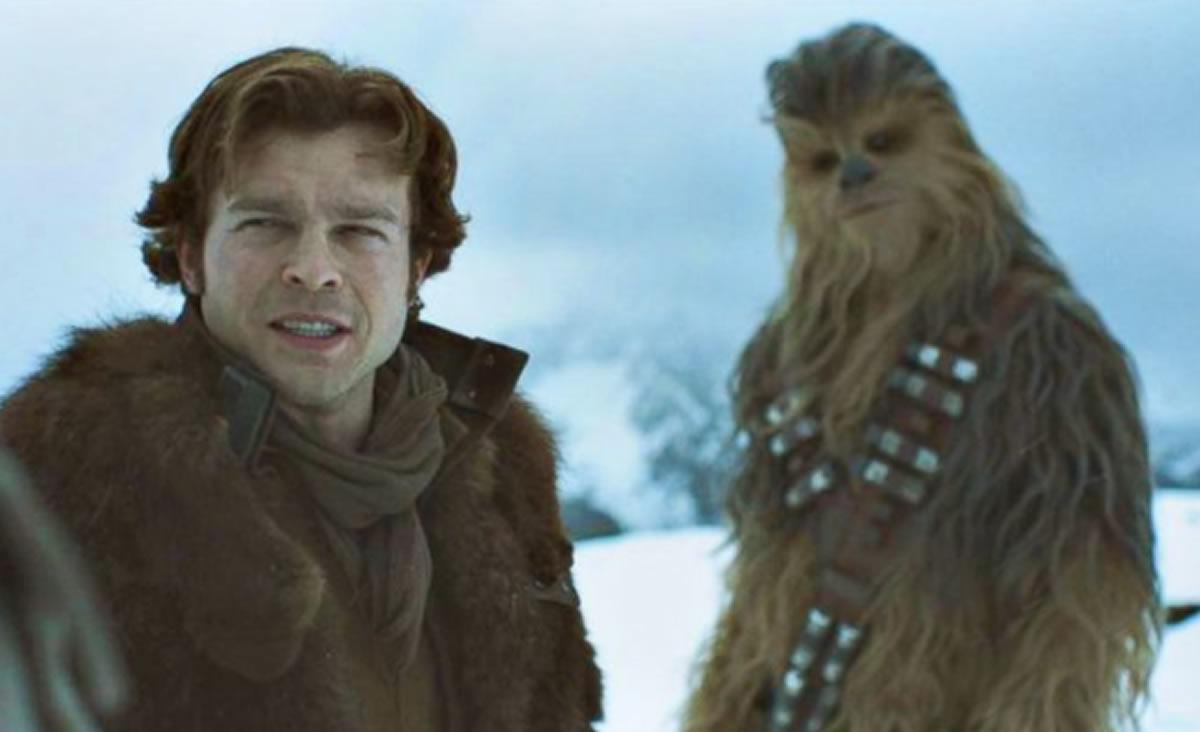 Película de Han Solo pilotea la cartelera de esta semana (Opinión de losEstrenos)