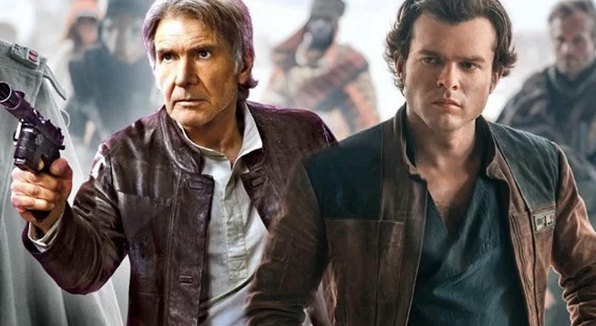 Han Solo: George Lucas, Ron Howard y Harrison Ford coincidieron en filmesetentero