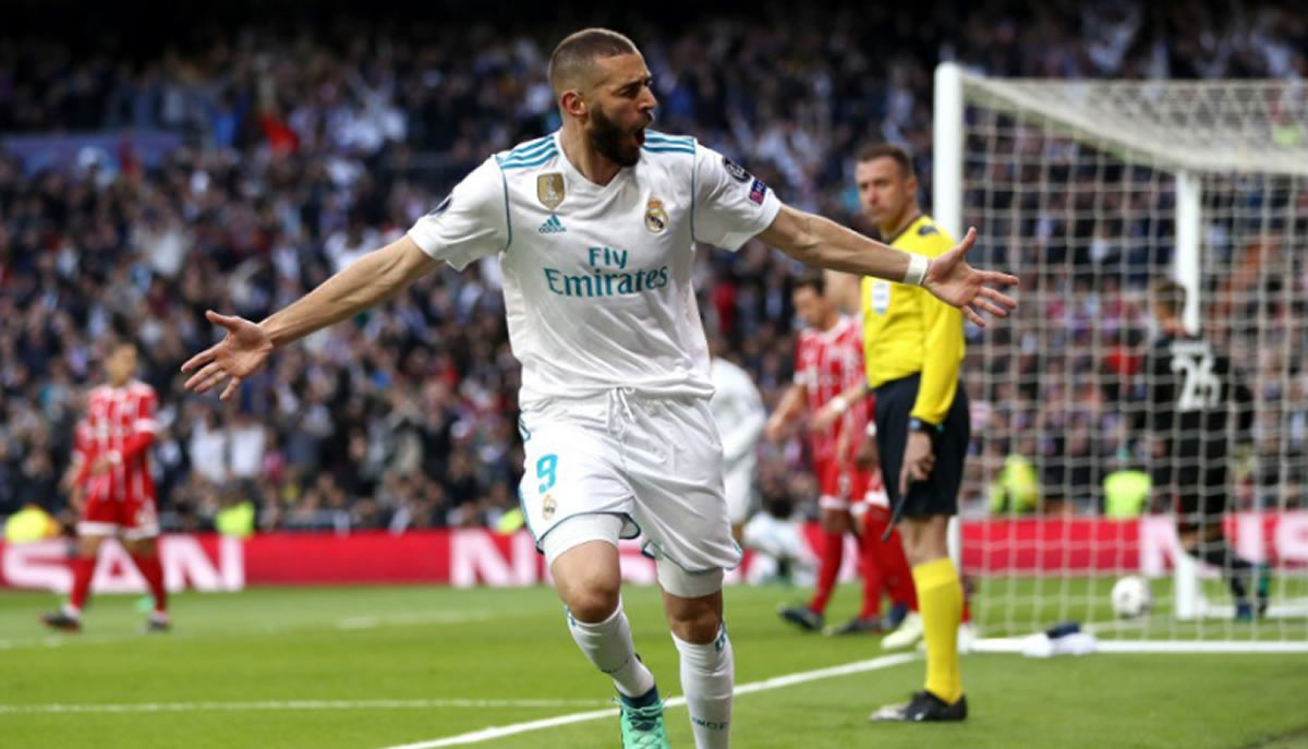 Real Madrid clasifica a la final de la Champions League, con doblete de Benzema