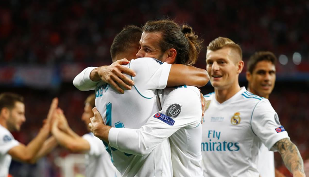 Champions League: Real Madrid ganó 3 a 1 la final de la Champions League, es tricampeón consecutivo