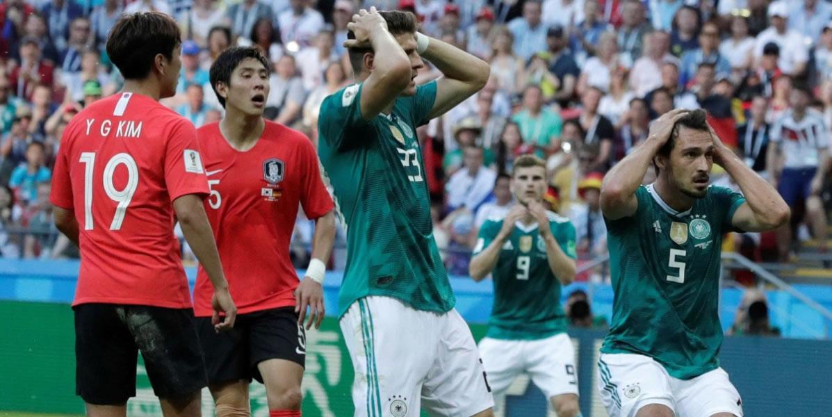 Alemania Kaputt: Corea elimina a campeones delmundo