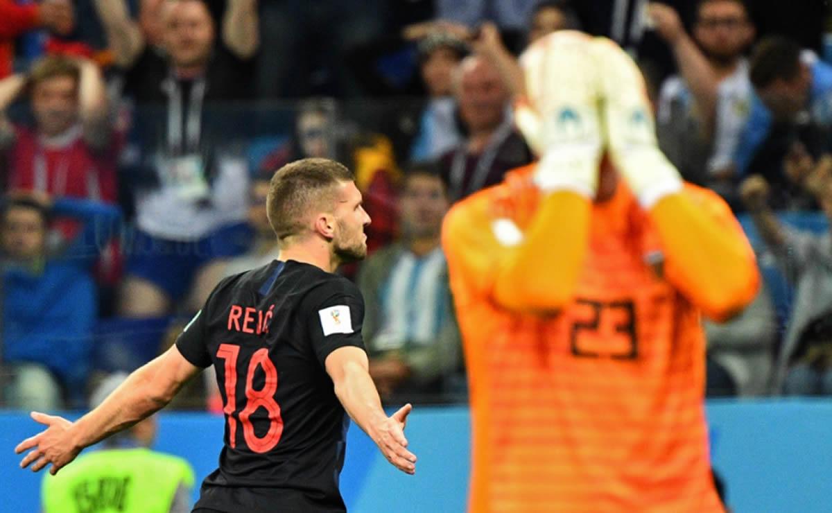 Argentina pierde por goleada ante Croacia:Crisis
