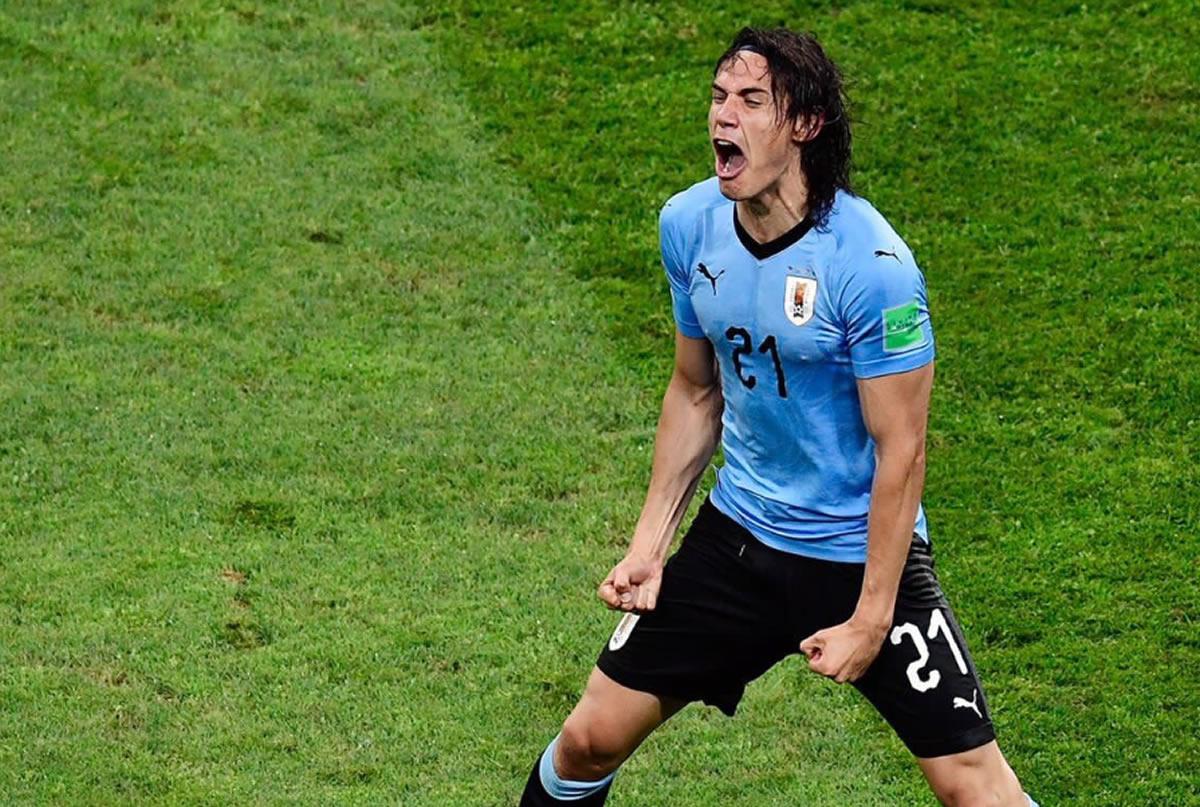 Uruguay y Cavani fueron más que Portugal y CristianoRonaldo