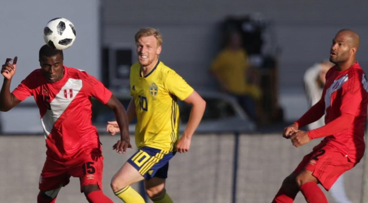 Perú y Suecia empataron, en un partido cerrado y típico deMundial