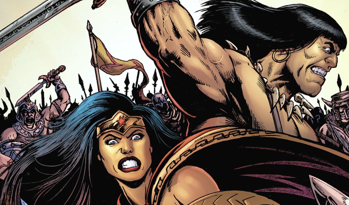 Wonder Woman y Conan el Bárbaro, en una aventuraespectacular