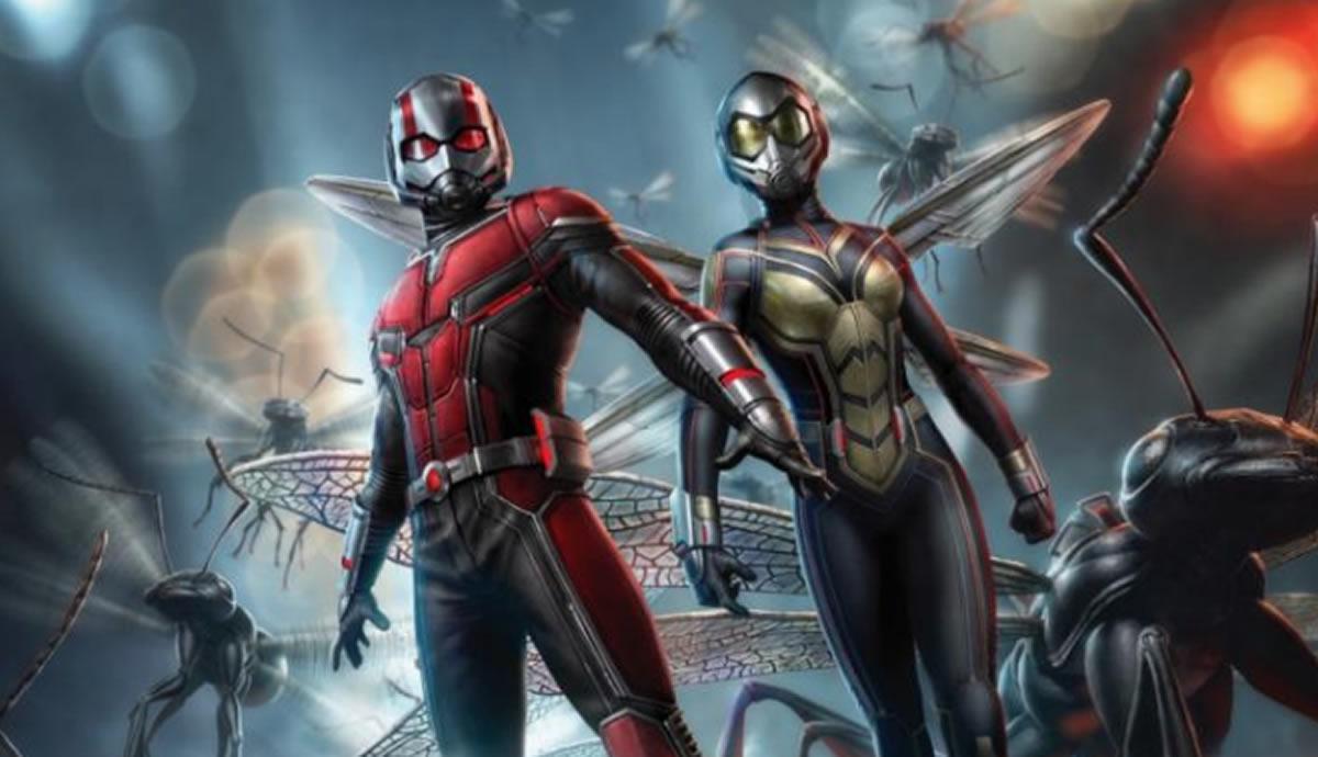 Ant-Man y la Avispa hacen de las suyas en lacartelera