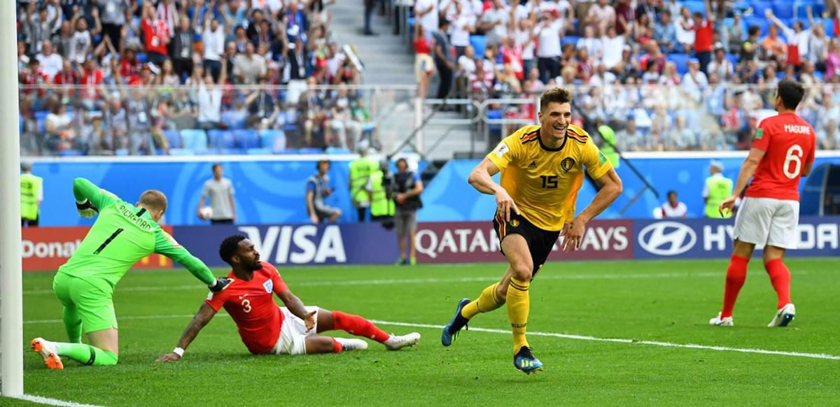 Bélgica vence a Inglaterra y quedan terceros en Rusia2018