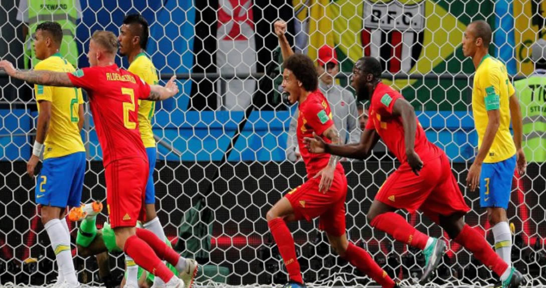 Brasil eliminado por Bélgica, el Mundial se volvióeuropeo