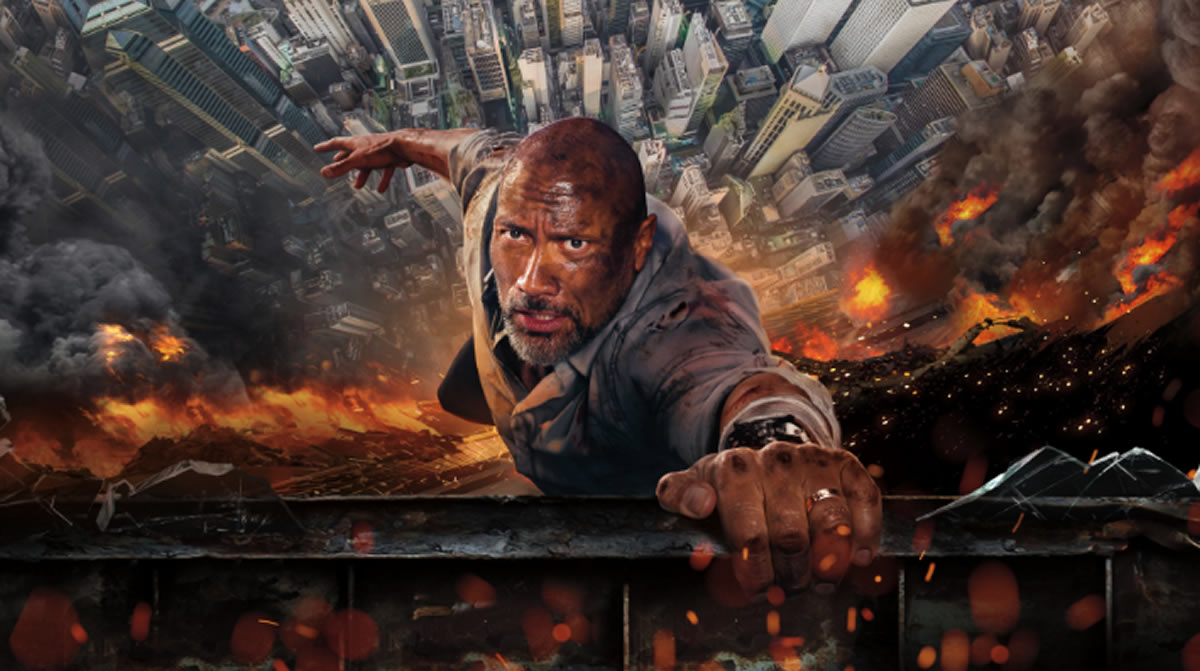 Dwayne Johnson y Rascacielos: Las mejores películas dedesastres