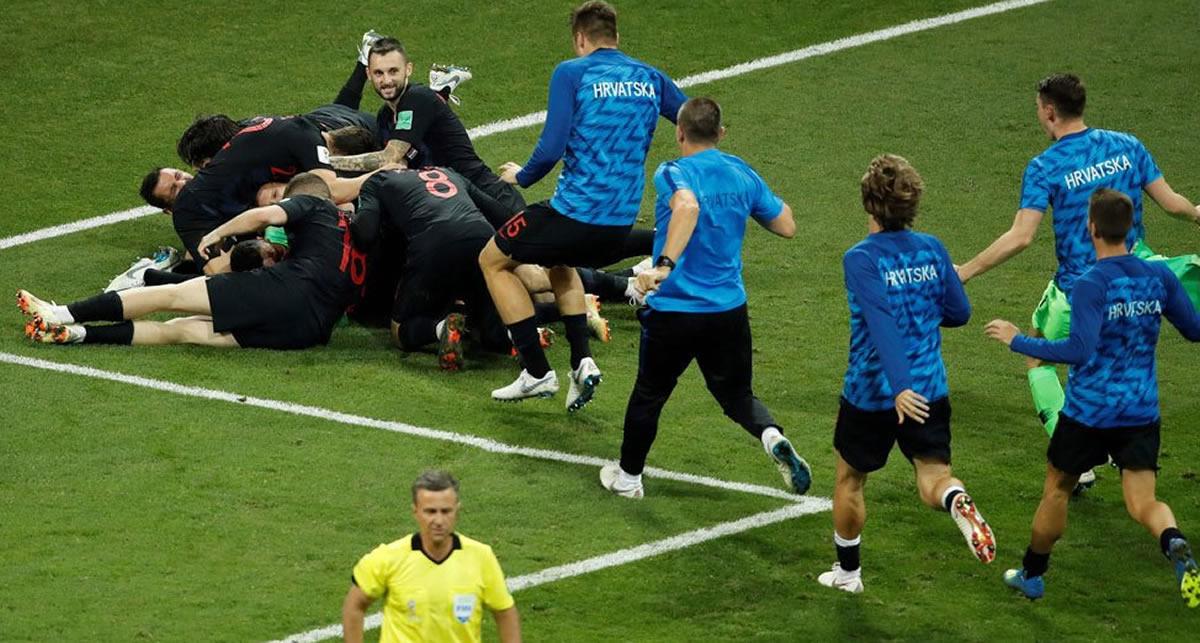 Croacia deja fuera del Mundial a los anfitrionesrusos