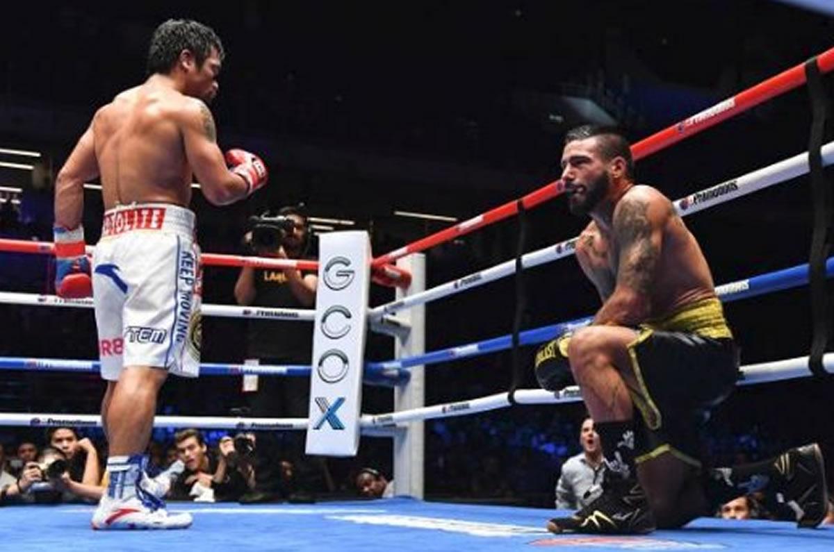 Manny Pacquiao vuelve a ser campeón al noquear a LucasMatthysse