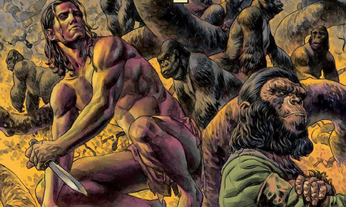 Tarzán en El Planeta de los Simios: Sólo el cómic losjuntó