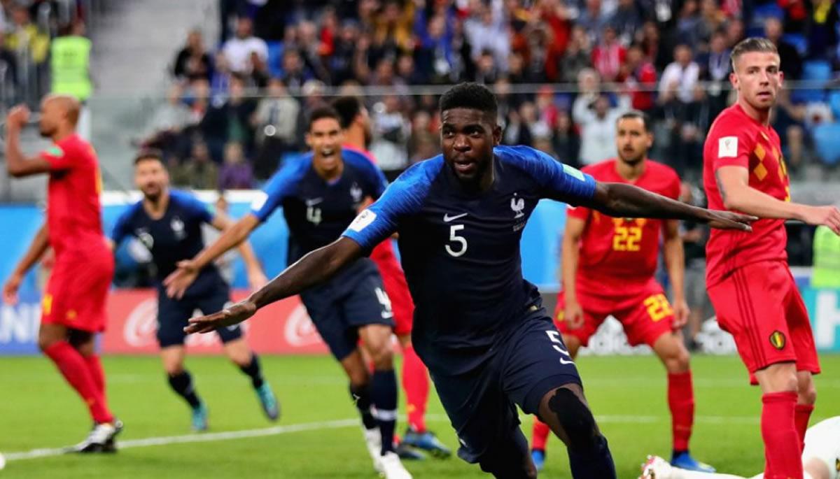 Francia a la final del Mundial y Bélgica por el tercerpuesto