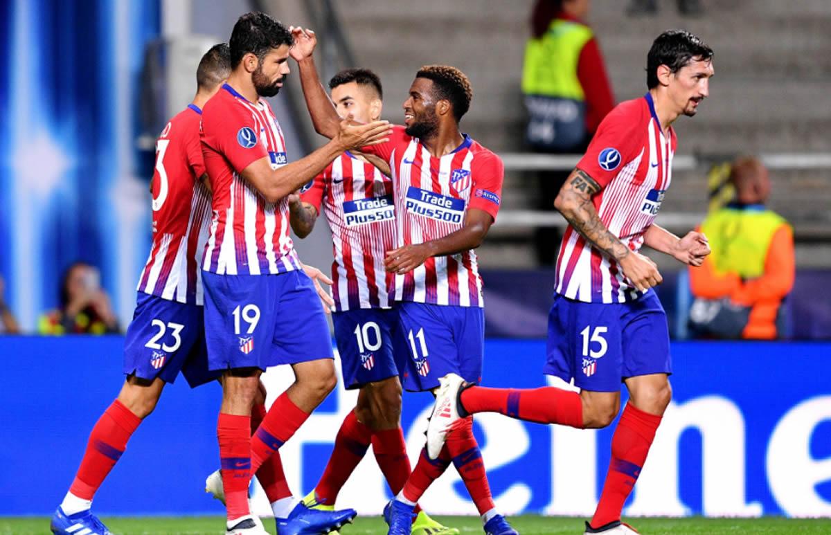 Atlético de Madrid le ganó al Real Madrid la Supercopa deEuropa