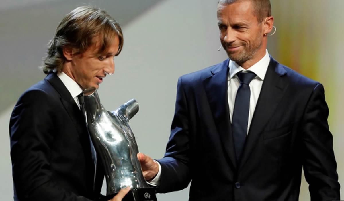 Luka Modric el mejor para la UEFA y los grupos de Champions(Análisis)