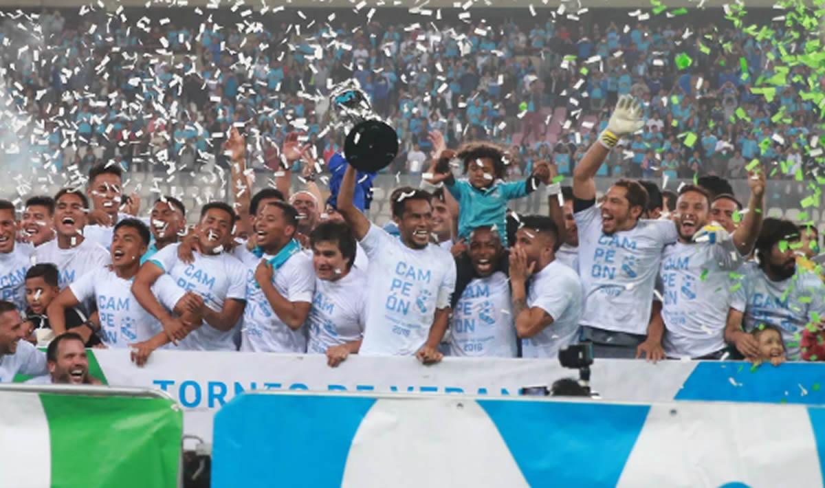 Sporting Cristal campeón del Apertura y el mejor en lo que va del2018