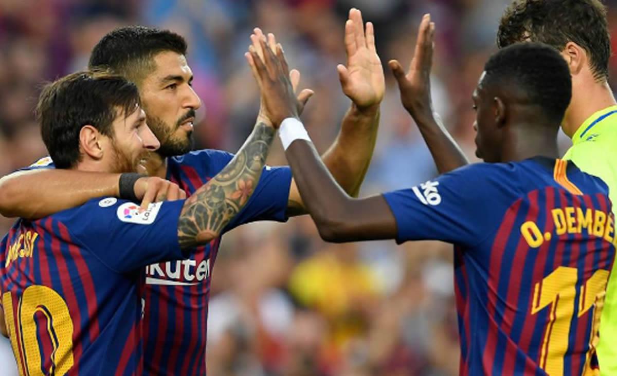El Barcelona-Huesca y la distancia con el fútbolperuano