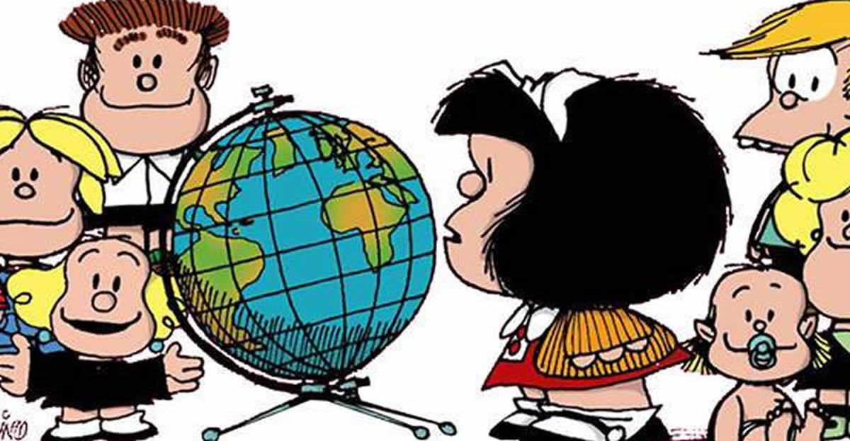 Mafalda y sus amigos son un resumen de lahumanidad