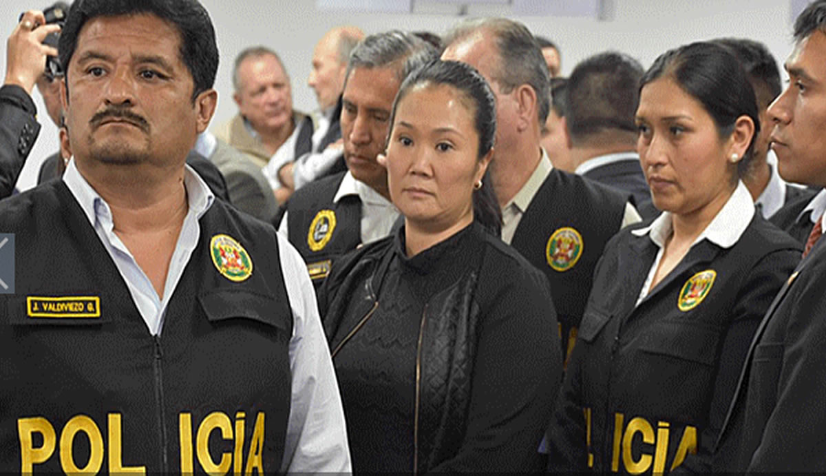 La Fuerza Impopular de Keiko Fujimori y sus 36 meses enprisión