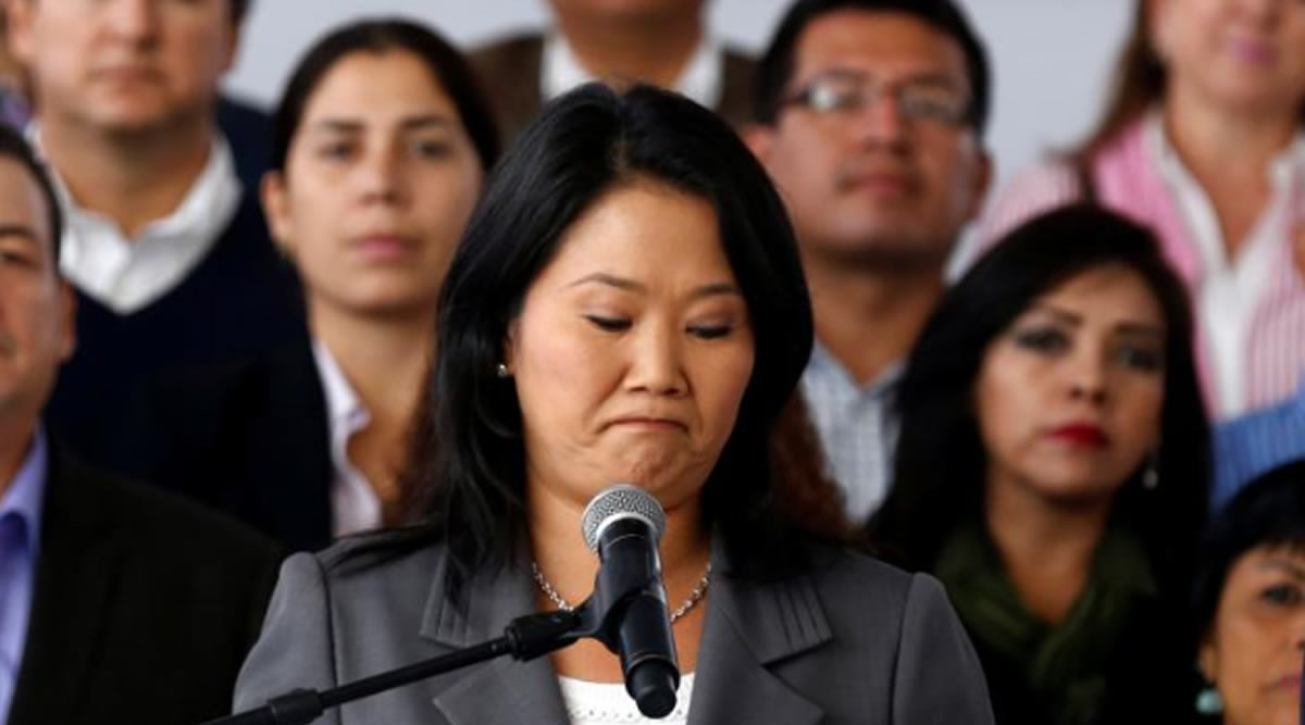 """Detienen a Keiko y a otros fujimoristas, la justicia ya no tiene """"vacassagradas"""""""