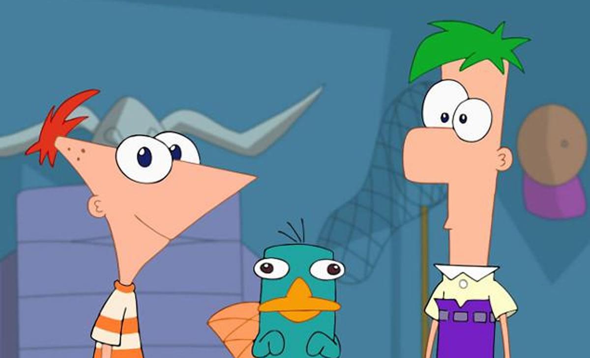 Phineas y Ferb, un dibujo animado positivo pararecordar