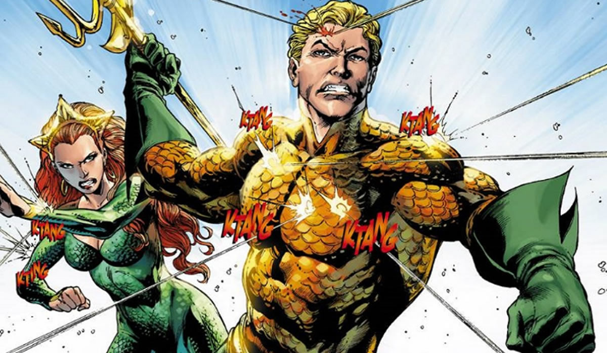 Aquaman, sus cambios de look y de humor en loscómics