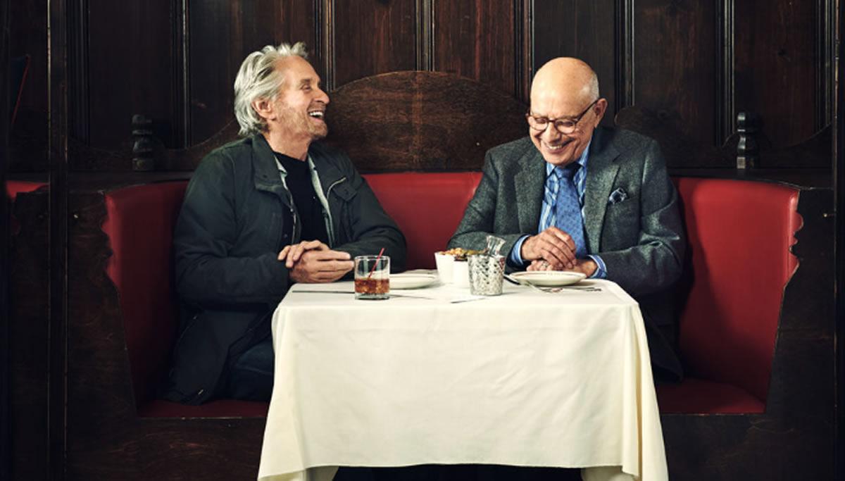 El Método Kominsky y los diálogos de Michael Douglas y AlanArkin