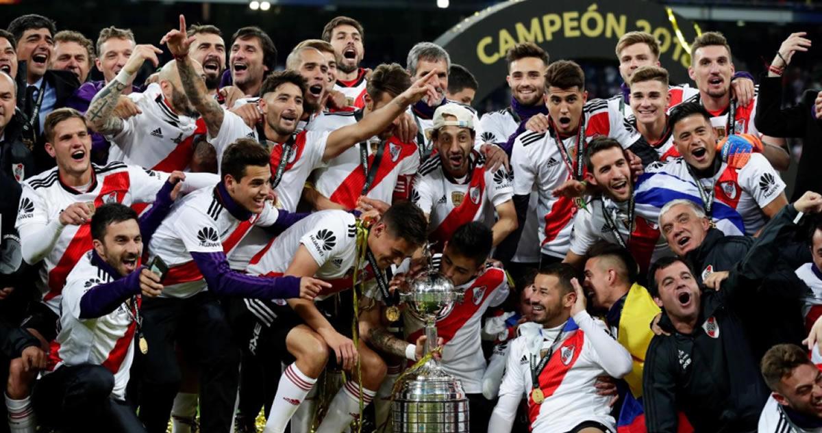 River Plate campeón de la Copa Libertadores: Final sudamericana enMadrid
