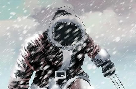 Wolverine y otros héroes en portadas navideñas (TerceraEdición)