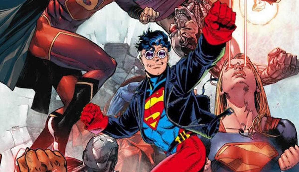 Es trabajo para Superboy: En El Reino de los Supermanes, Titans y YoungJustice