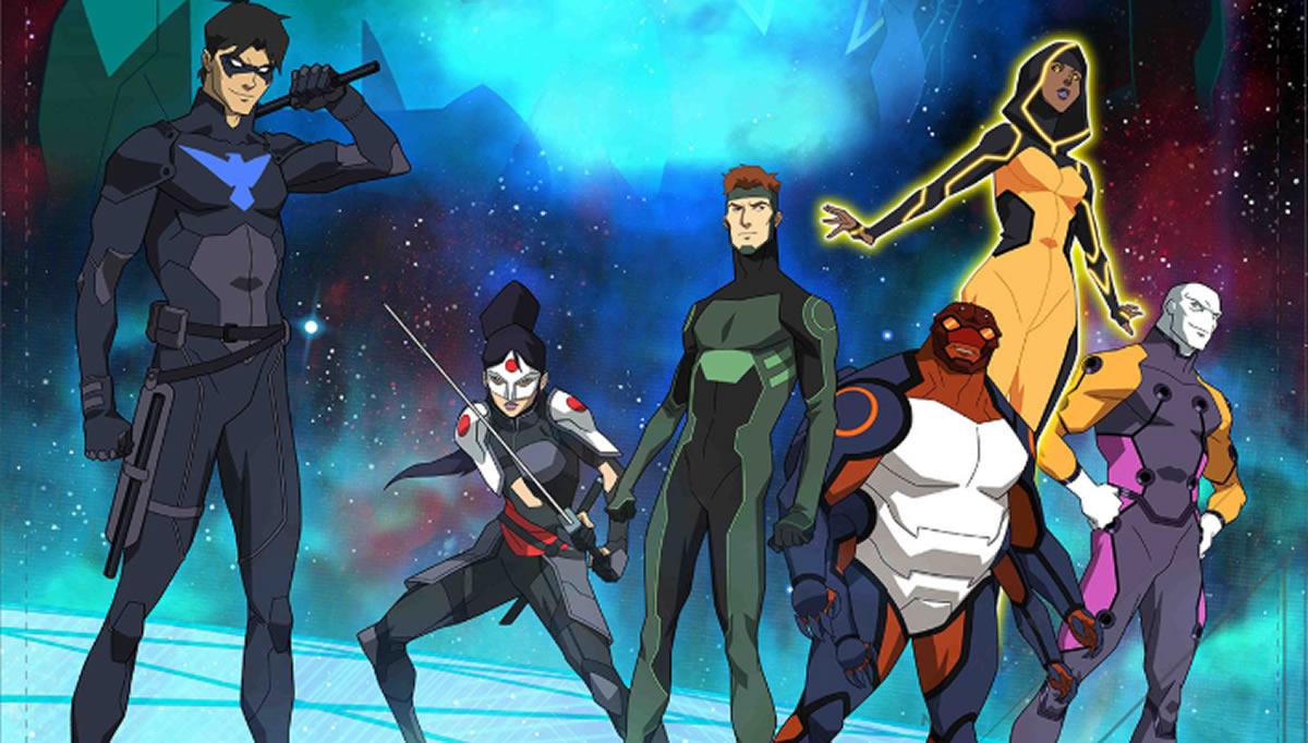 Young Justice Outsiders: La eterna juventud de los héroes DCComics