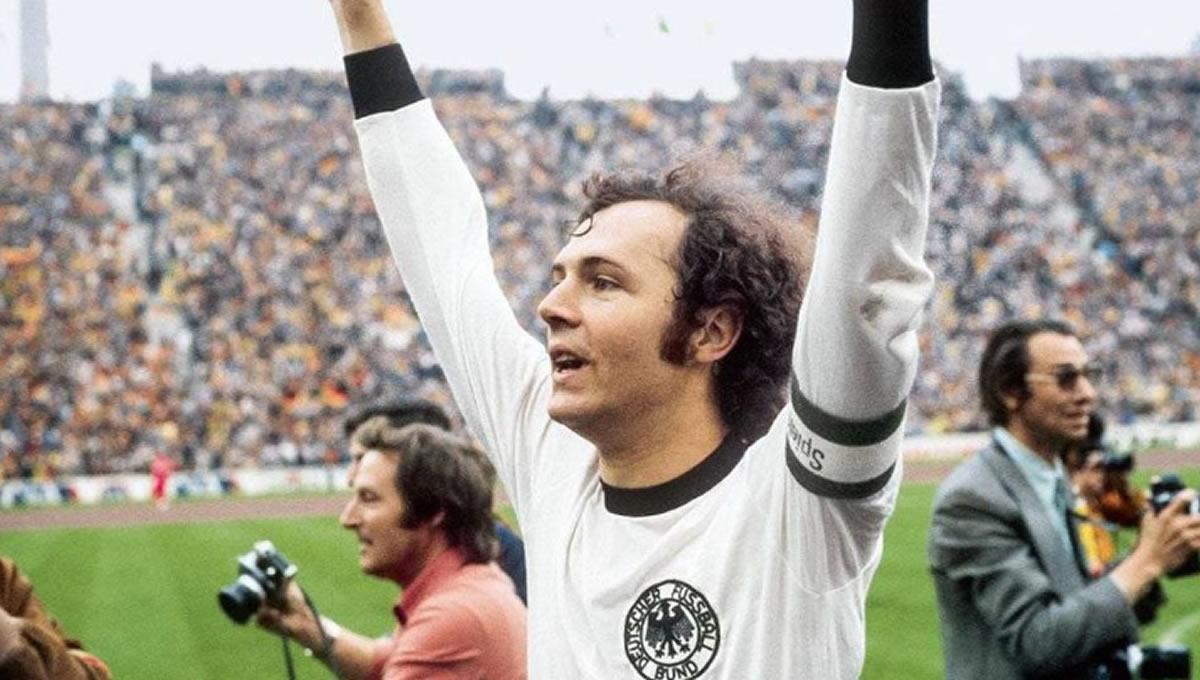 Franz Beckenbauer, el líbero, el Kaiser, el mejor defensa y elcampeón