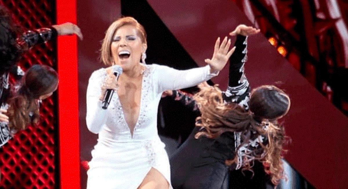 Todo el reconocimiento a nuestra Gaviota cantora SusanOchoa
