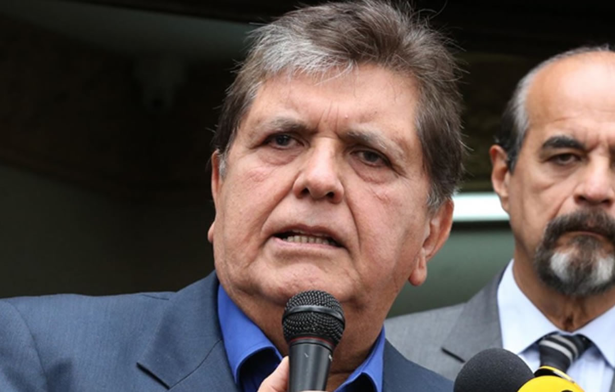 Fabulas apristas sobre el suicidio de Alan GarcíaPérez