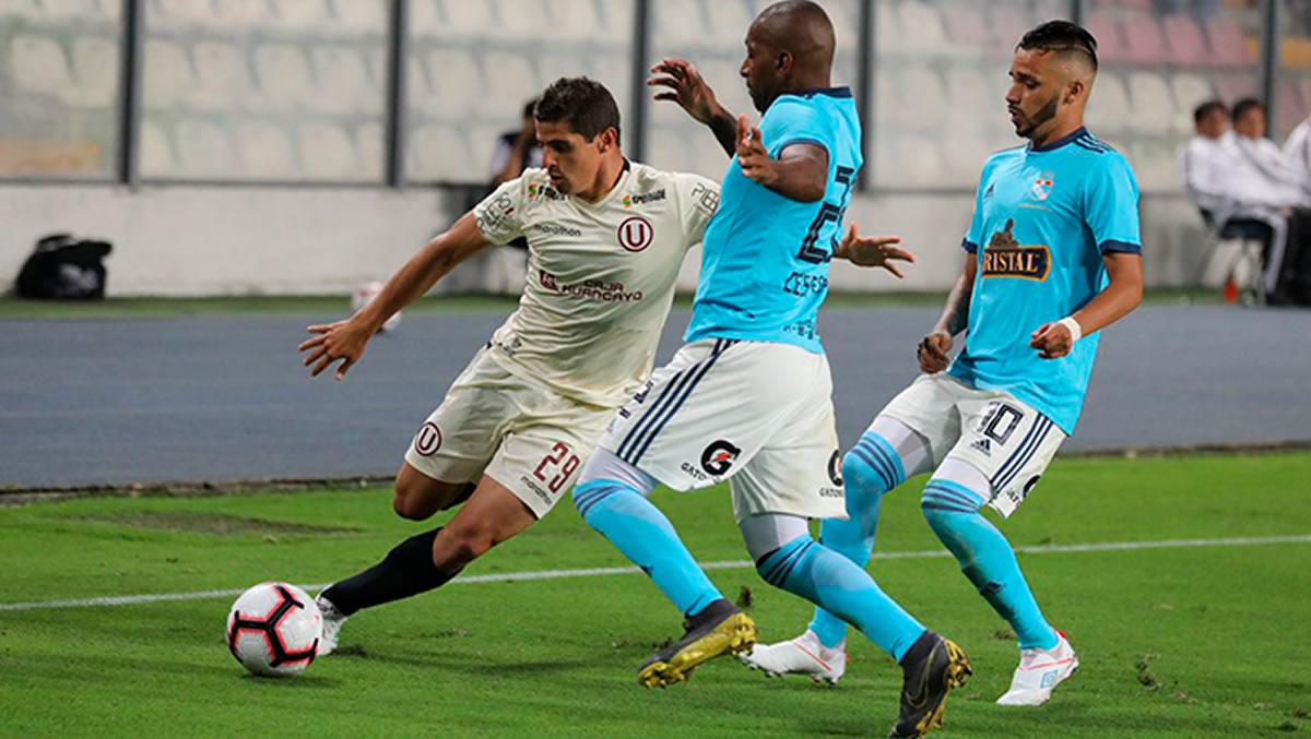 Sporting Cristal y Universitario empataron en goles y en penales nocobrados