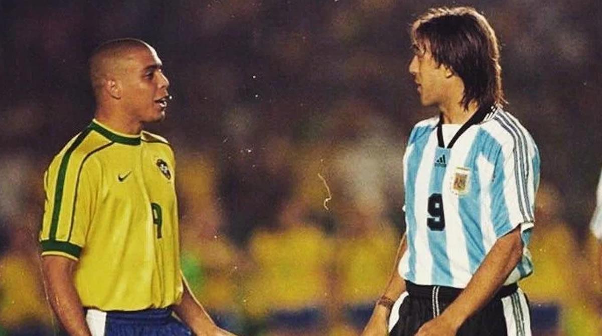 Antes de Messi y Cristiano Ronaldo, Ronaldo y Batistuta eran dueños delgol
