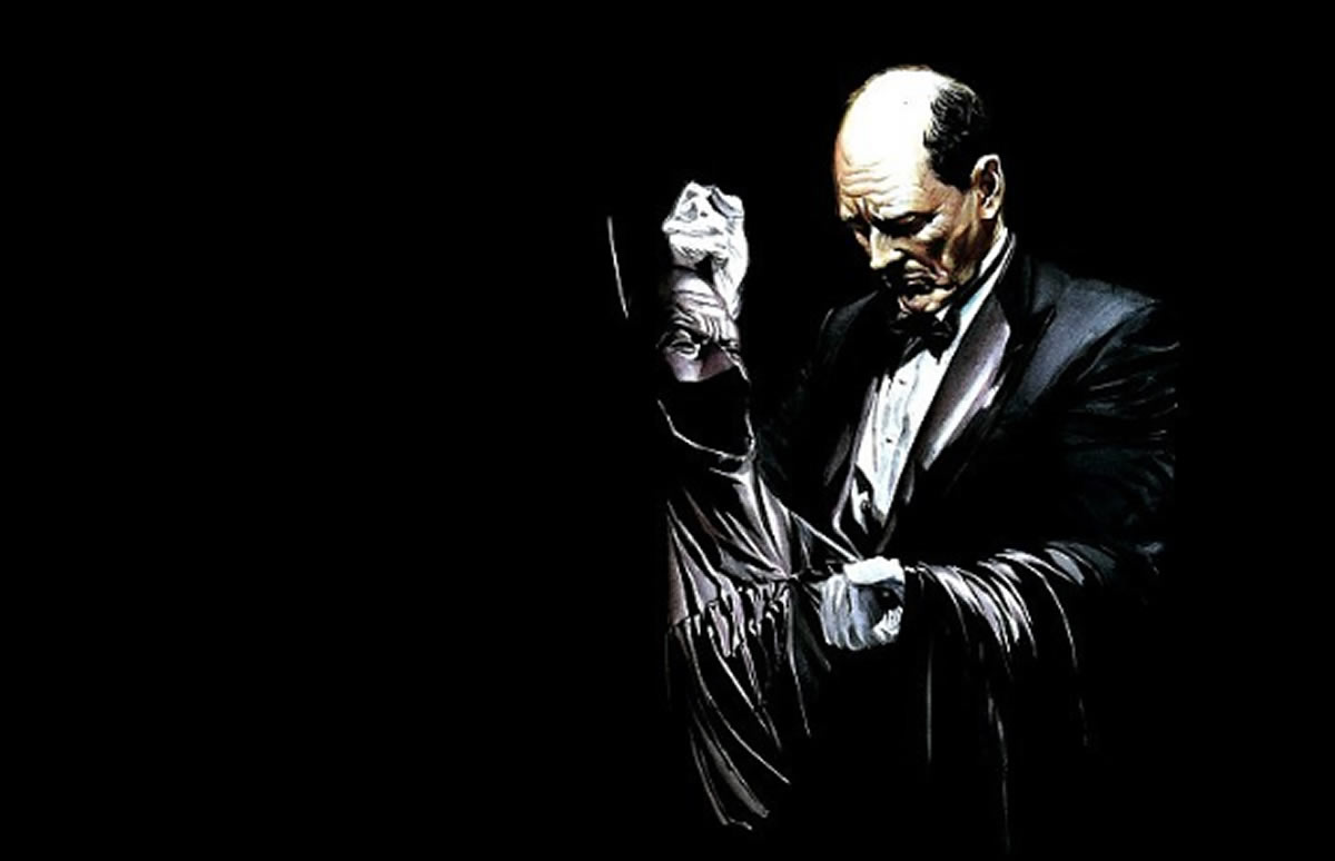 Alfred, el mayordomo de Batman: Su serie de TV, historia y actores que lointerpretaron