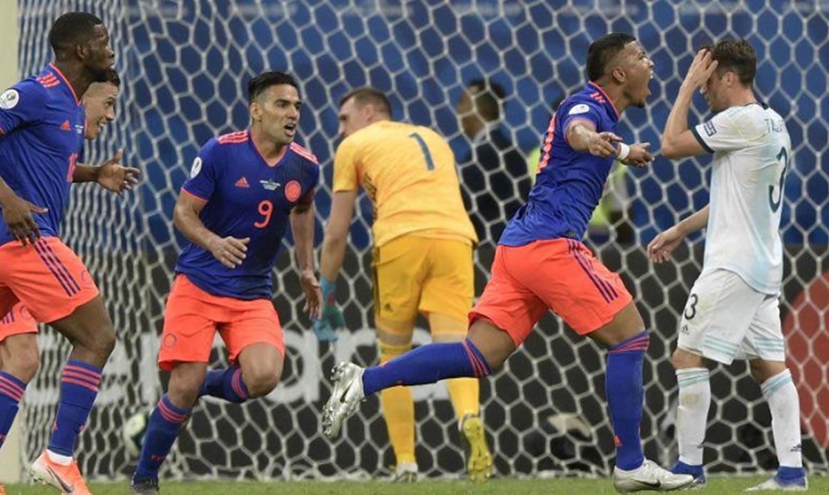 Copa América: Colombia y Uruguay se reafirman como losfavoritos