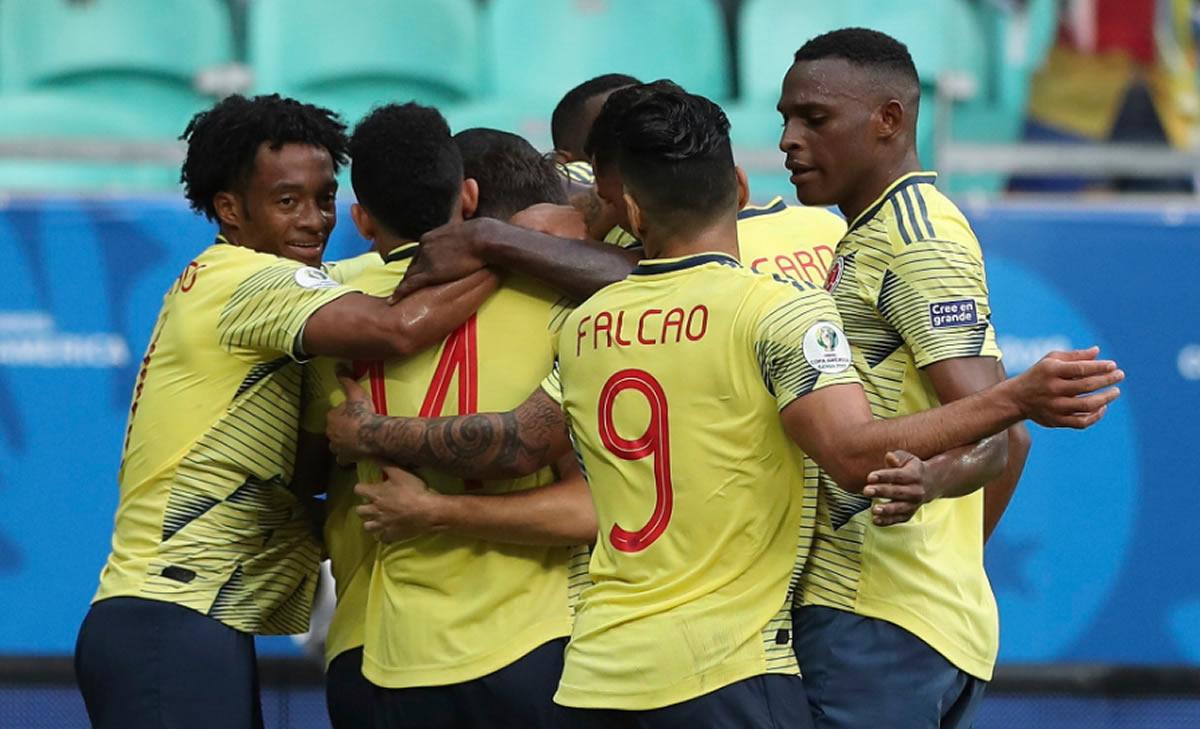 Copa América: Colombia nos vuelve a dar la mano paraclasificar