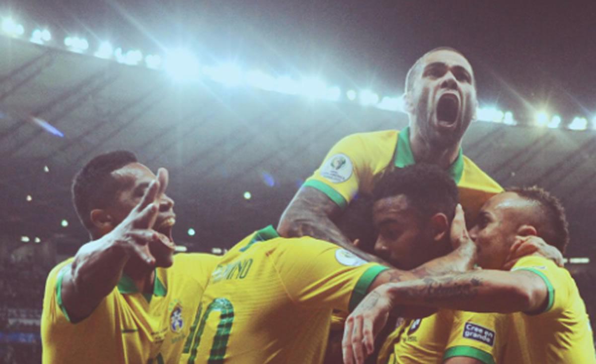 Copa América: Brasil a la final, le ganó a Argentina con oficio e individualidades