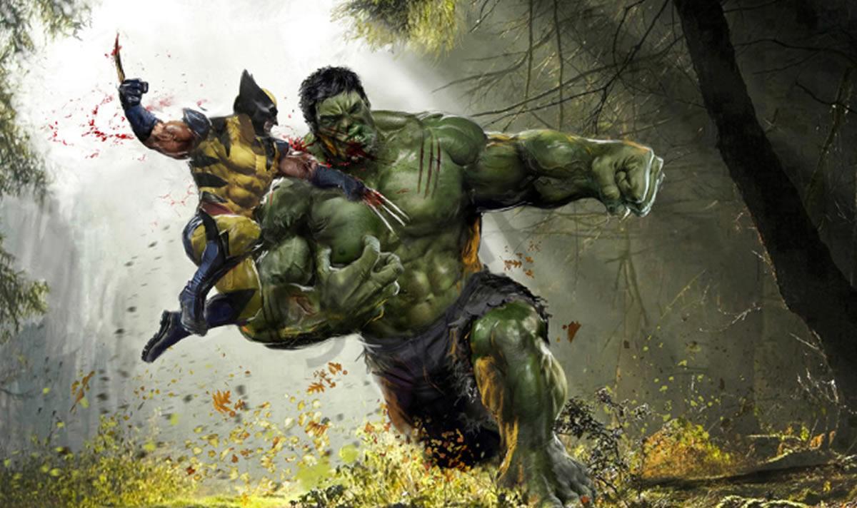 Wolverine vs Hulk, pelea titánica y permanente de Marvel Comics (1eraparte)