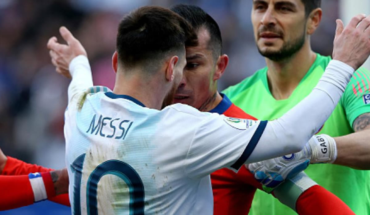 Copa América: Argentina terminó tercera, Lionel Messiexpulsado