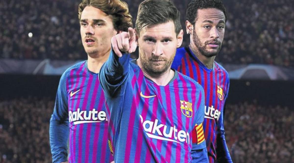 FC Barcelona: Messi puede ser acompañado por Griezmann yNeymar