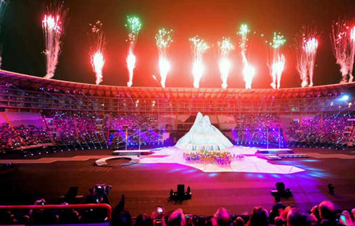 Disfrutando de los Panamericanos Lima 2019: Con el Perú bien enalto