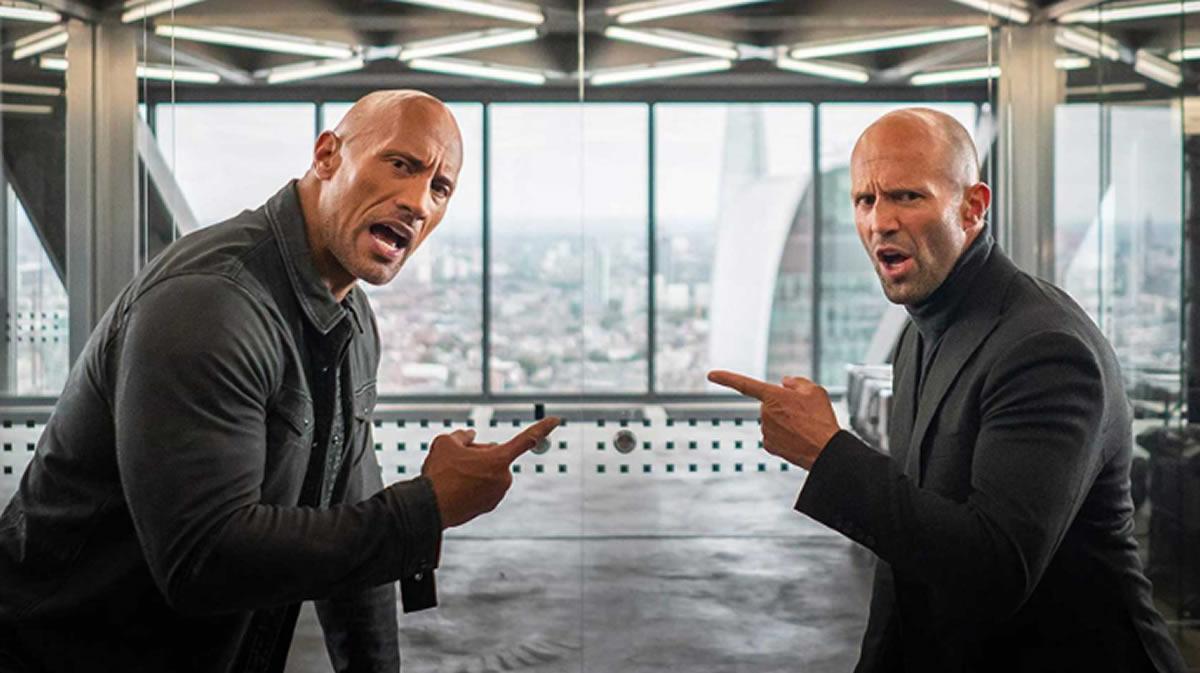 Rápidos y Furiosos estrena su spin off con la Roca y JasonStatham